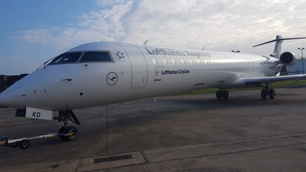 Proud to have Lufthansa Cityline as part of Airbourne Colours portfolio
